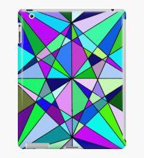 Cool Geometric Colours iPad Case/Skin