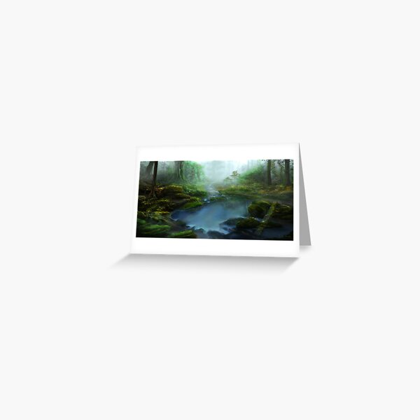 Mystic Pond Greeting Card