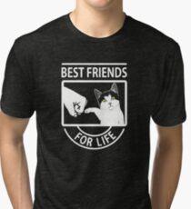 Katze beste Freunde für das Leben Vintage T-Shirt