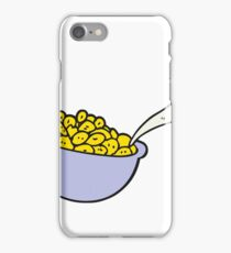 cartoon bowl of cereal iPhone Case/Skin