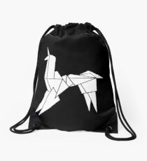 BLADERUNNER ORIGAMI UNICORN Drawstring Bag