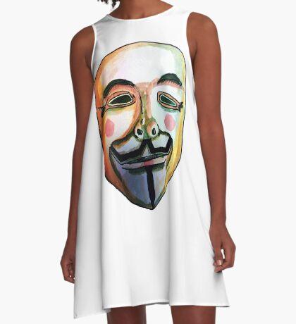 Guy Fawkes Vestido acampanado
