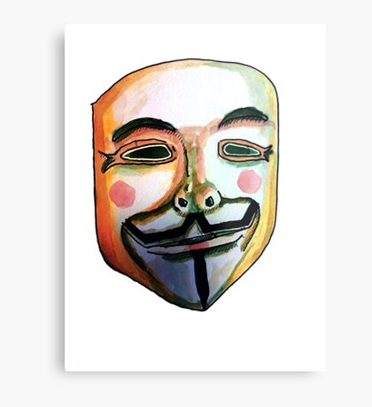 Guy Fawkes Lienzo metálico