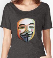 Guy Fawkes Camiseta ancha para mujer