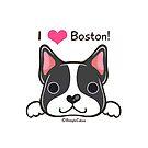 """""""I <3 Boston!""""  by beaglecakes"""