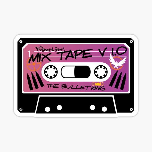 The Bullet King Mix tape V 1.0 Sticker