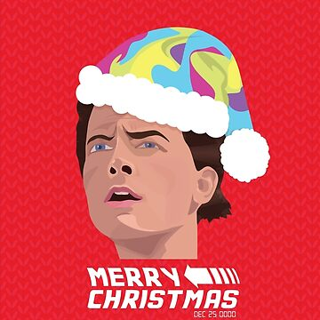BACK TO THE FUTURE CHRISTMAS by gbloomdesign