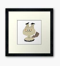 A charming, wigglin' boy Framed Print