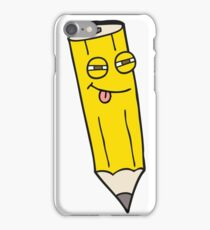 sly cartoon pencil iPhone Case/Skin