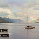 Lone Boat by Lynne Morris