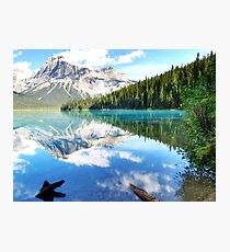 Emerald Lake, Banff Canada Photographic Print