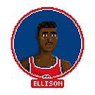 Pervis Ellison - Bullets by pixelfaces