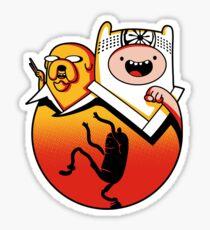 Karate Time (sticker) Sticker