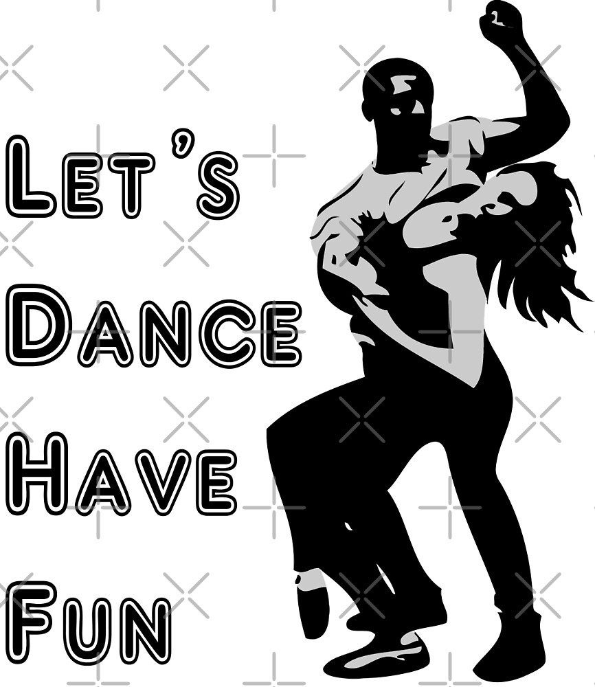 let's dance have fun - dancing couple by cglightNing