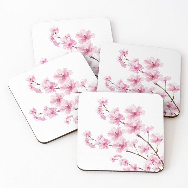 Sakura Cherry Blossom Coasters (Set of 4)