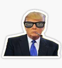 Donald Trump Thug Life Sticker