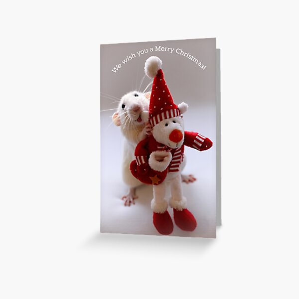 Wishing you all a Merry Christmas! Greeting Card