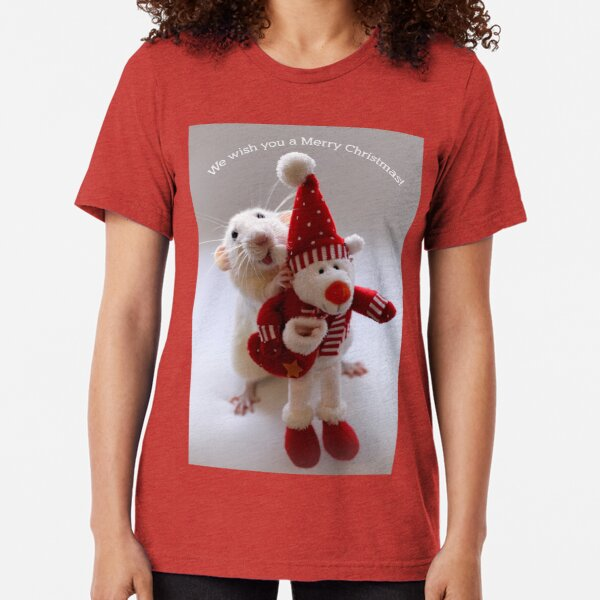 Wishing you all a Merry Christmas! Tri-blend T-Shirt