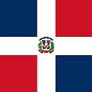 Dominican Republic by WorldFlagCo