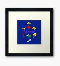 Princesses Framed Print