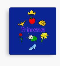 Princesses Canvas Print
