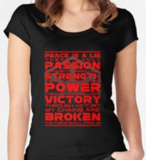 Sith Code Women's Fitted Scoop T-Shirt