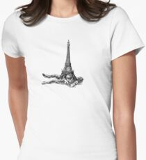 My French Crush Womens Fitted T-Shirt