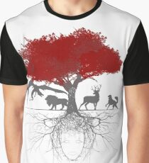 Three-eyed raven tree Graphic T-Shirt