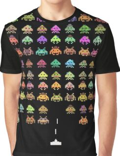 Space Invaders Game T-shirt for Men or Women