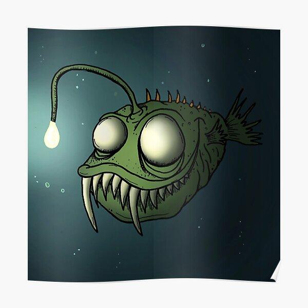 Angler Fishy Poster