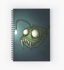 Angler Fishy Spiral Notebook
