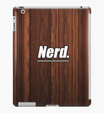 Nerd. iPad Case/Skin