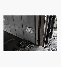 Damaged  Photographic Print