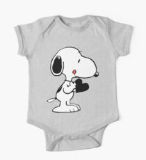 Snoopy's heart  One Piece - Short Sleeve