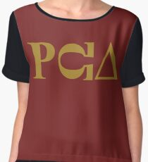 PCU – South Park fraternity, PC Principal Chiffon Top