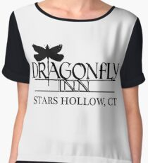 Dragonfly Inn shirt - Gilmore Girls, Stars Hollow, Lorelai, Rory Chiffon Top