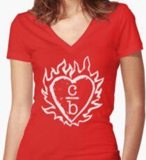 Kleidung über Bros Logo Shirt - One Tree Hill, Brooke Davis Shirt mit V-Ausschnitt