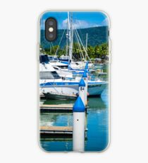 Boats In The Marina iPhone Case