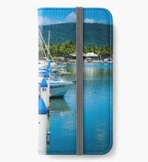 Boats In The Marina iPhone Wallet/Case/Skin