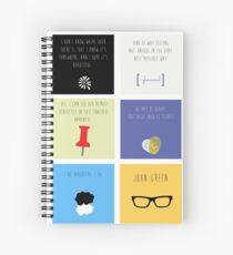 Last Words - John Green edition Spiral Notebook