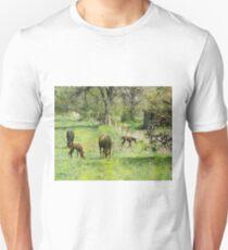 Spring Colts - By John Robert Beck T-Shirt