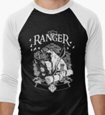 RPG Class Series: Ranger - White Version Men's Baseball ¾ T-Shirt