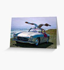 1955 Mercedes-Benz 300SL Gullwing Replica Greeting Card