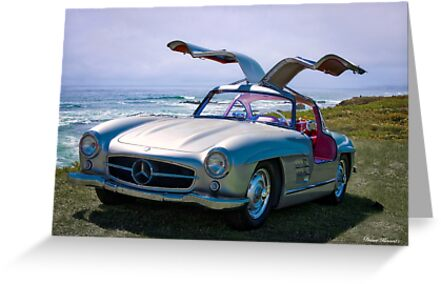 1955 Mercedes-Benz 300SL Gullwing Replica by DaveKoontz