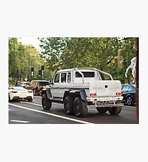 Mercedes AMG 6x6 Photographic Print