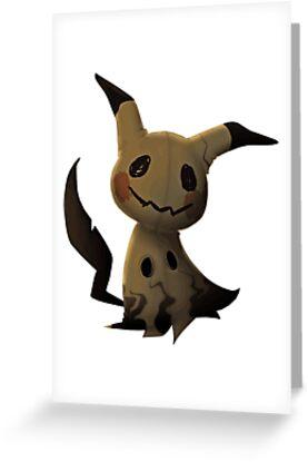 Mimikyu Pokemon by wingedwolf94