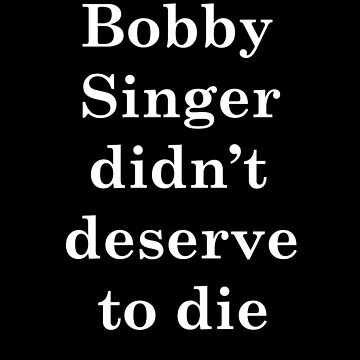 Bobby Singer didn't deserve to die by Pottergirl