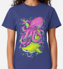 shark vs kraken Classic T-Shirt