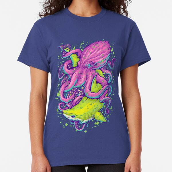 Hai gegen Kraken Classic T-Shirt