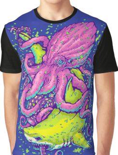 shark vs kraken Graphic T-Shirt